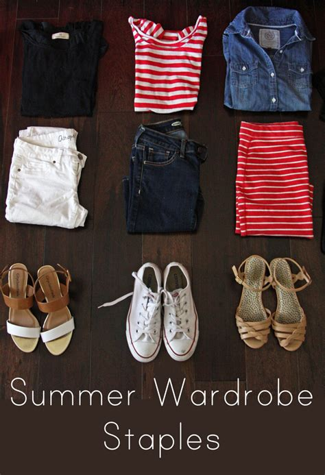 staples needed for hip wardrobe 2014 summer wardrobe staples everyday reading