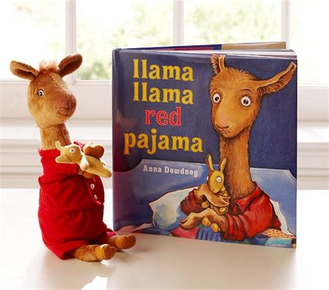 a for llama books llama llama book plush set pottery barn