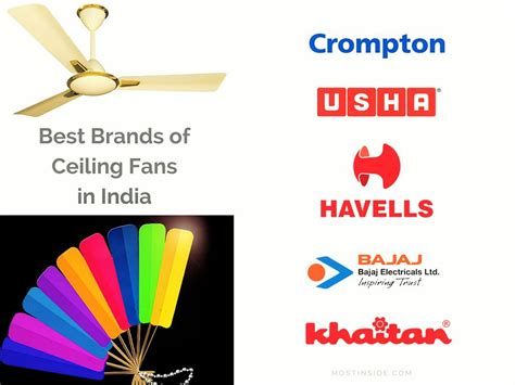 best ceiling fan brands fans crompton greaves ceiling fans havells fans usha fan