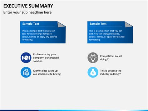 executive powerpoint templates executive summary powerpoint template sketchbubble