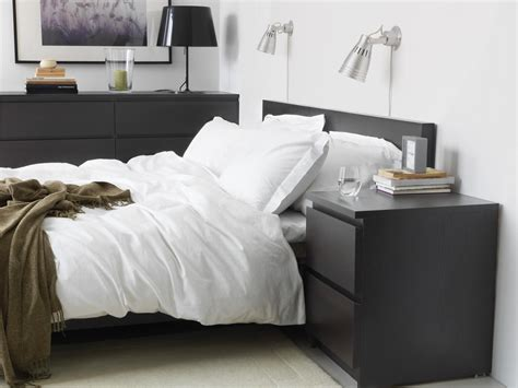 Ikea Malm Bedroom Ideas by Malm 2 Drawer Chest Black Brown Ikea Malm Malm And