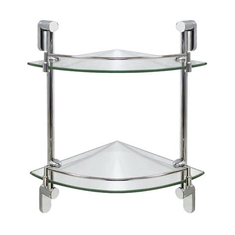 corner glass shelves for bathroom 7 best corner shelves for bathroom