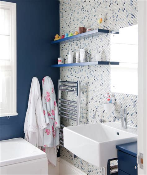 real simple bathroom case of the blues 15 great bathroom design ideas real