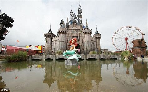 theme park names in london banksy s dismaland theme park has raked in 163 20m for weston