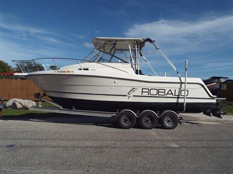 walkaround robalo boats for sale 3 boats - Robalo Boats Walkaround