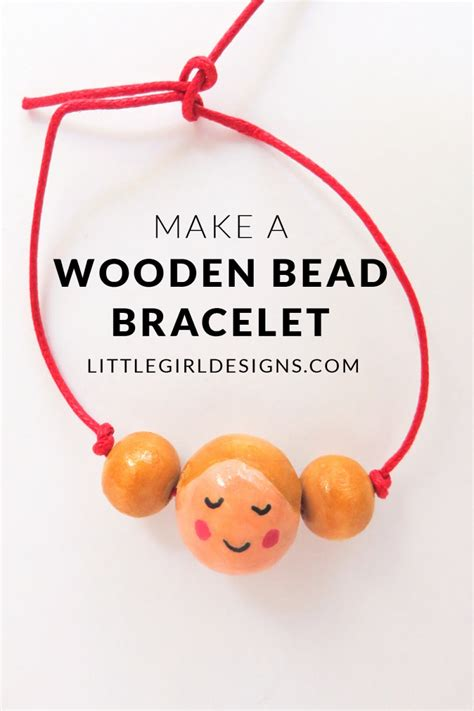 how to make a bead bracelet how to make a wooden bead bracelet crafts