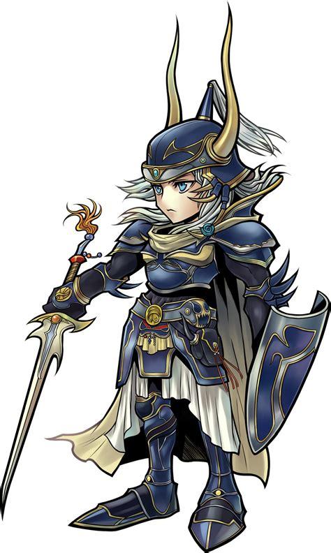 warrior of light ffbe image dffoo warrior of light png wiki