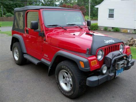2004 Jeep Wrangler Soft Top Purchase Used 1995 Jeep Wrangler Yj Grande Original In