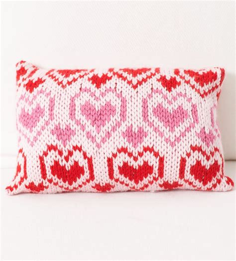 knitting pattern heart pillow heart knitting patterns in the loop knitting