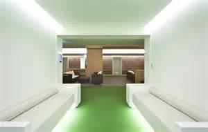 Calming Colours Mental Health modern hospital interior design by hyunjoon yoo architect