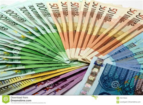 colorful money colorful money fan of different notes 500 200 100 50