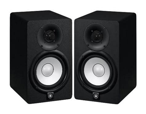 Speaker Yamaha Hs8 pair 2 yamaha hs8 active studio monitor speakers reverb
