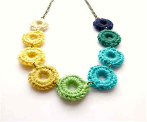 Handmade Jewellry Uk - 1000 ideas about crochet jewellery on crochet
