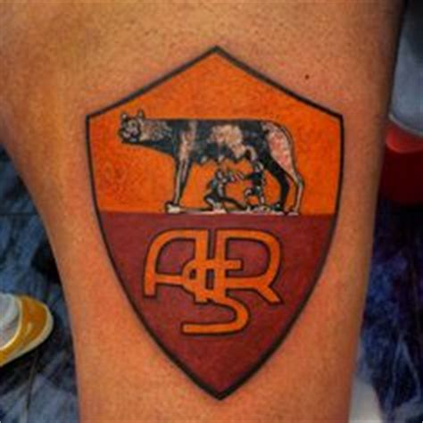 tattoo 3d roma incredible tattoo from as roma fan http asr1927news