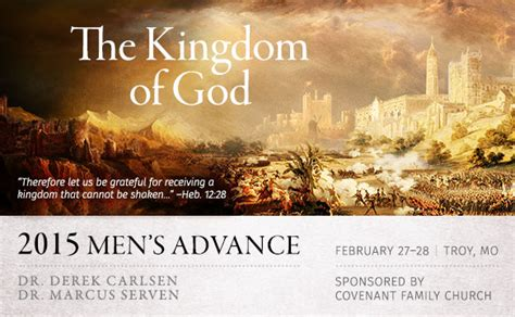 themes of the kingdom of god covenant family church 187 theme for the men s advance