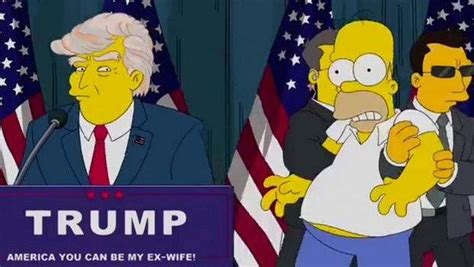 donald trump simpsons this episode of quot the simpsons quot predicted a president trump