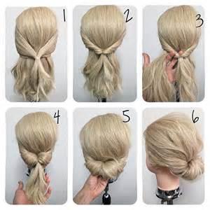 best 25 easy low bun ideas on low hair buns