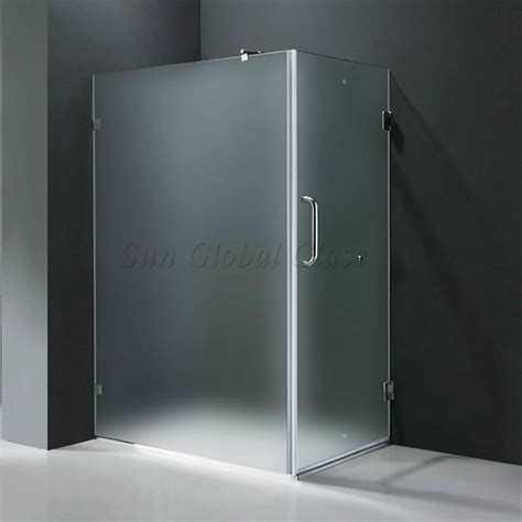 How To Clean Frosted Glass Shower Doors 10mm Frosted Tempered Glass Shower Door Glass Supplier Acid Etched Tempered Shower Door Glass