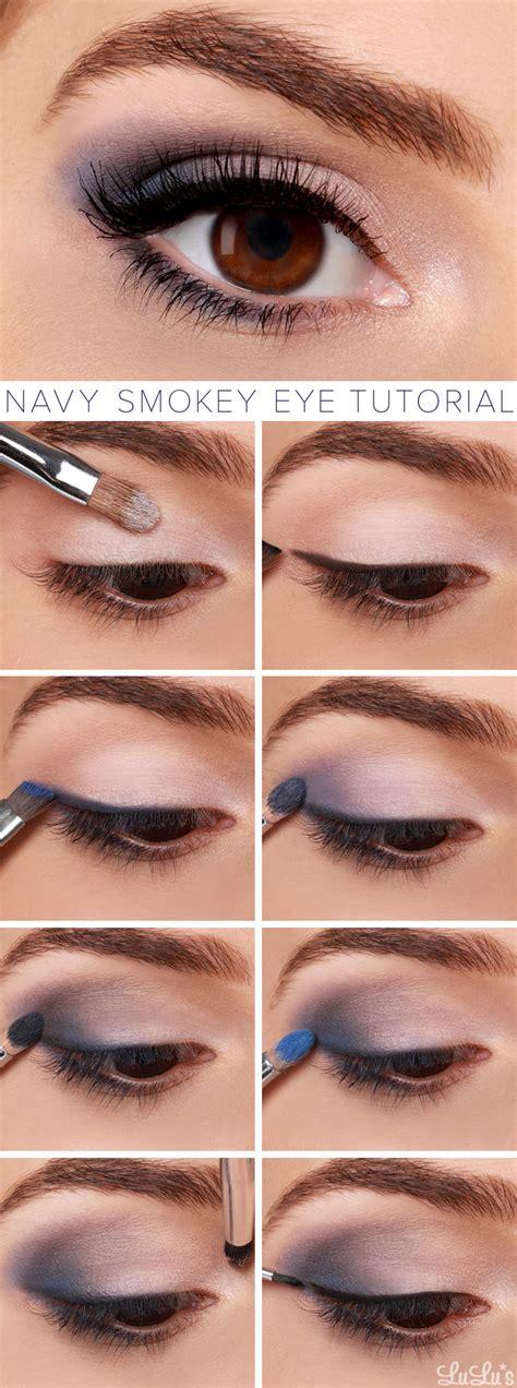 tutorial makeup lulu lulu s how to navy smokey eye makeup tutorial lulus com