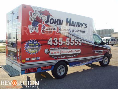 Henry Plumbing Lincoln Ne by Henry S Unicell Hvac Vinyl Wrap Revolution Wraps