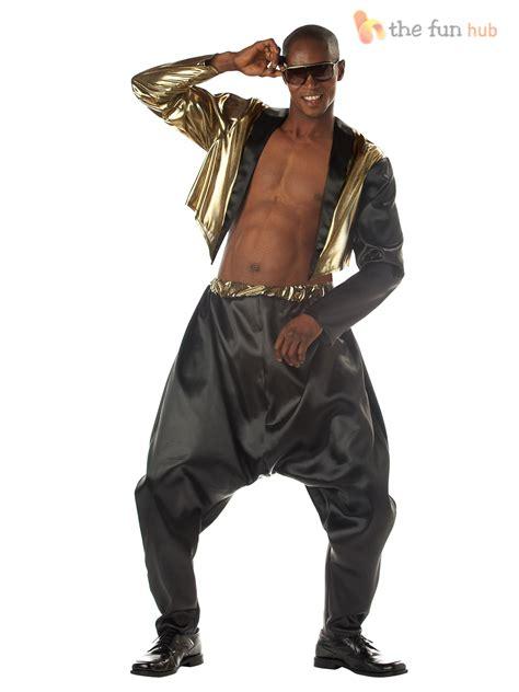 90s fancy dress costumes men adult mens old school rapper 80s 90s mc hammer fancy dress