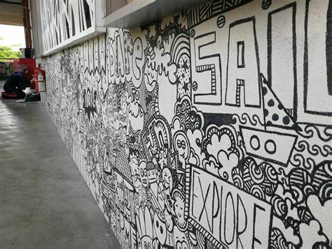 pelukis doodle malaysia selepas karya doodle tular guru ini idam lukis doodle di