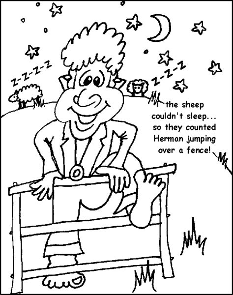 sheep herd coloring page herd sheep coloring pages