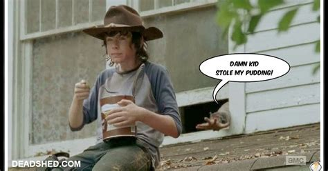 The Walking Dead Carl Meme - deadshed productions lone wolf carl edition the walking