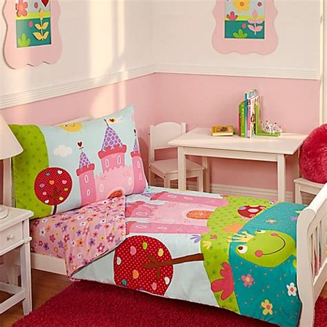 bed bath and beyond kids bedding everything kids by nojo 174 fairytale 4 piece toddler bedding