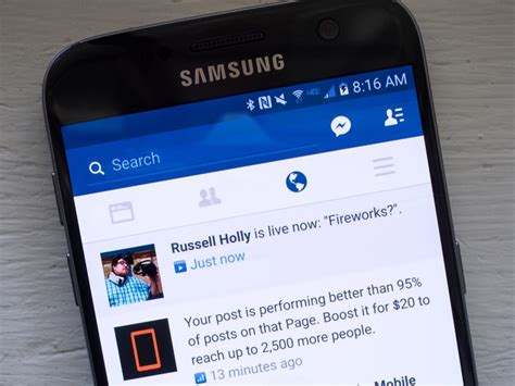 turn  facebook  notifications android central