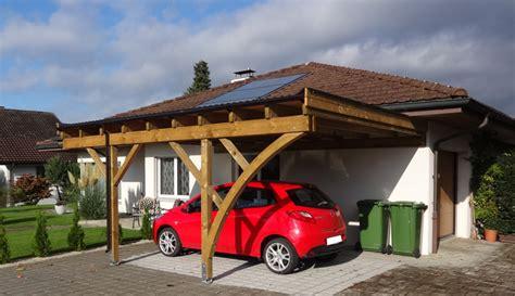 Carport Ch by Carport Fahrzeugunterst 228 Nde Pletscherholz Pletscher