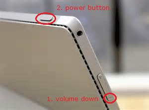 two button restart surface pro 3 surface pro 3 two button reset 2 button reset surface