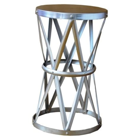 metal round accent table round hammered metal accent table furniture pinterest