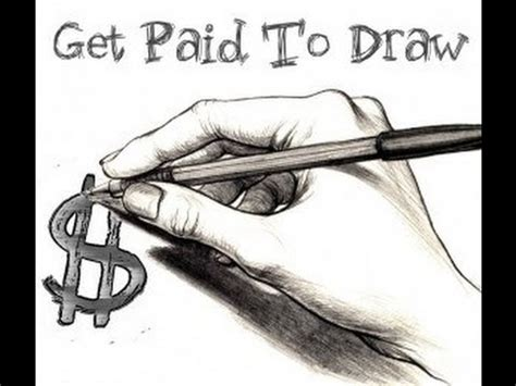 Make Money Drawing Online - get paid for your drawings and photos easy money youtube