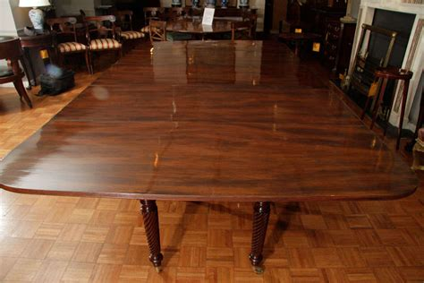 Dining Room Tables Ireland Regency Mahogany Extending Dining Table For Sale At