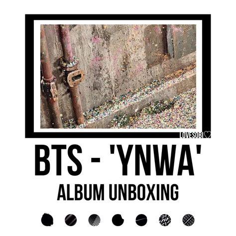 Album Bts Ynwa bts ynwa album unboxing k pop amino