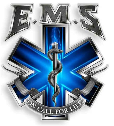 on call for life ems sticker ems star of life decals
