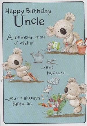 Birthday Cards For Uncles For Uncle Birthday Quotes Quotesgram