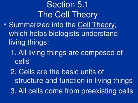 Cell Structure And Function Section 7 1 Is Cellular by Ppt Biology Chapter 5 Cell Structure And Function