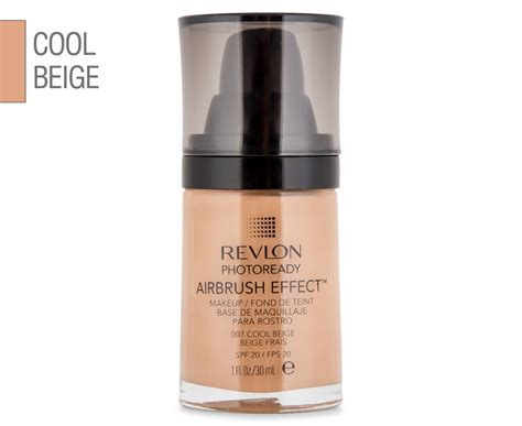 Revlon Photoready Airbrush Effect Cool Beige revlon photoready airbrush effect makeup 30ml cool beige
