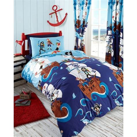 pirate bedding twin kids club swashbuckle pirates design quilt cover bedding