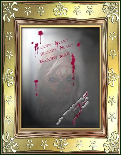 bloody mary in the bathroom mirror through the looking glass the mirror scare uncoolghoul
