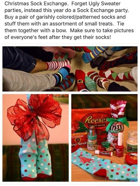 christmas sock exchange ideas 1000 ideas about gift exchange on exchange ideas gift exchange