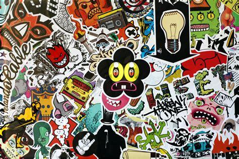 sticker wallpaper macbook pro sticker bomb by afitiity on deviantart