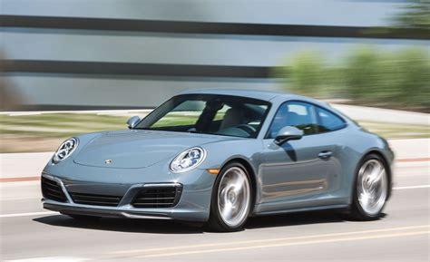 porche 911 4s 2017 porsche 911 4s test review car and driver