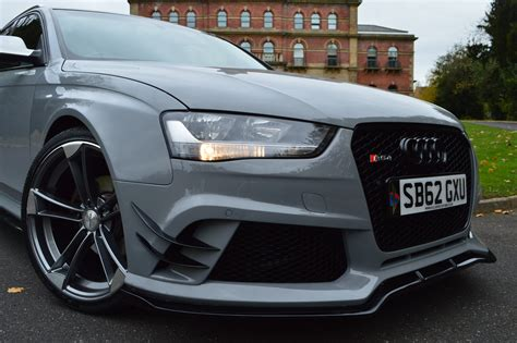 Audi A4 B8 S Line Body Kit by Audi A4 B8 Avant To Rs4 Full Body Kit Xclusive Customz