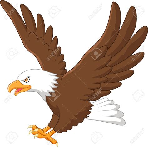 eagle clipart 37538173 eagle flying stock vector jpg 1291 215 1300