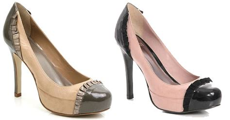 Faiths Heels by Faith S Clarency Pumps With Frilled Toe Caps Gt Shoeperwoman