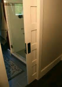 Bathroom Pocket Doors by Pocket Door House Bathroom