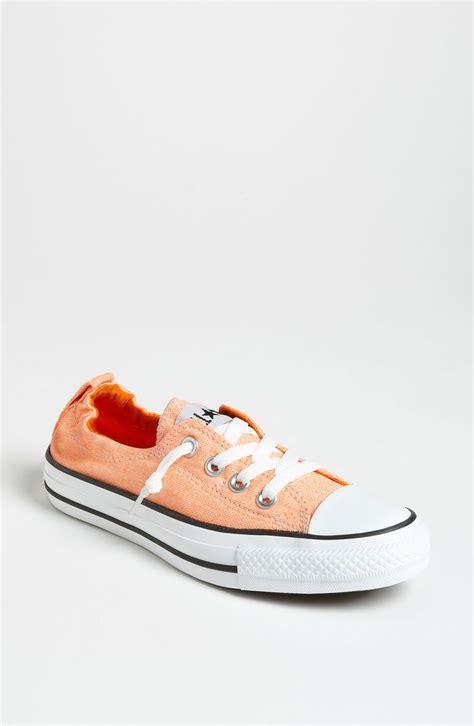 neon orange sneakers converse shoreline sneaker in orange neon orange
